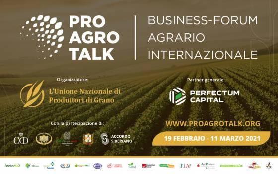 CGS partecipa in qualità di partner al Forum Internazionale organizzato da ProAgroTalk
